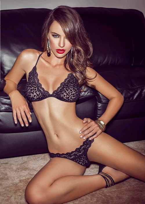 Nicole Meyer for Besame lingerie lookbook (Summer 2013) photo shoot