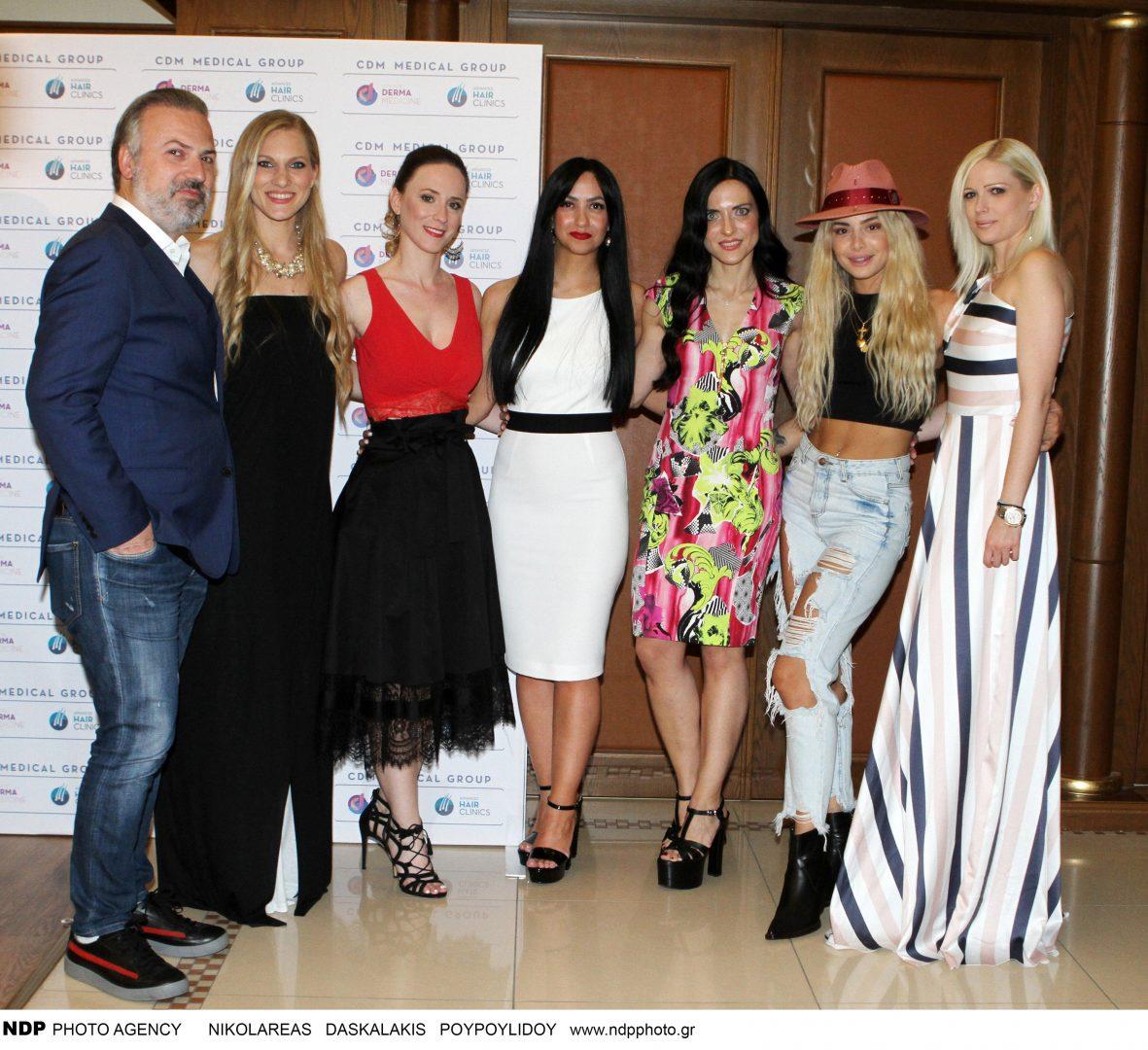 Λαμπερές εμφανίσεις σε coctail party στην Θεσσαλονίκη (Εικόνες)